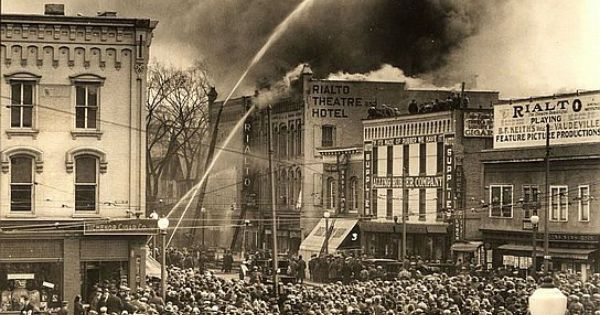 1925 Fire Rialto Glens Falls